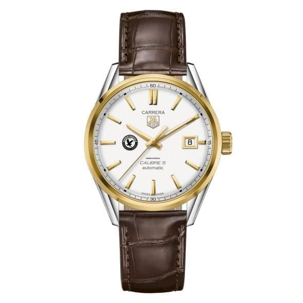 Embry-Riddle Men's TAG Heuer Two-Tone Carrera with Strap - Image 2