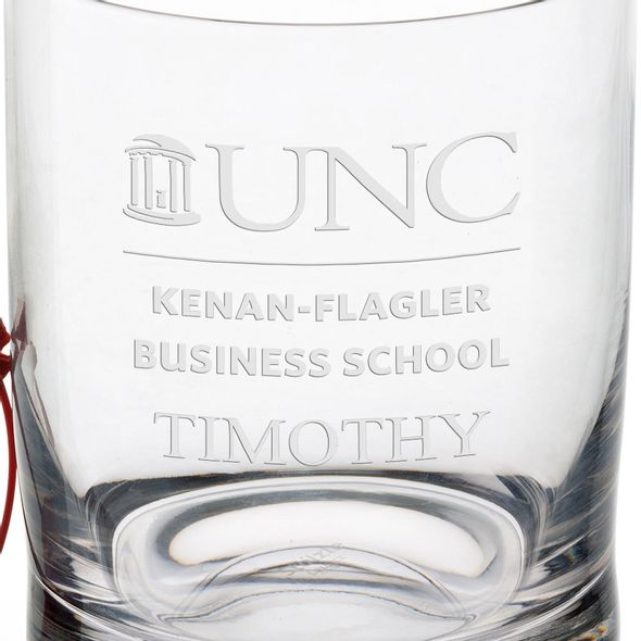 UNC Kenan-Flagler Tumbler Glasses - Set of 4 - Image 3