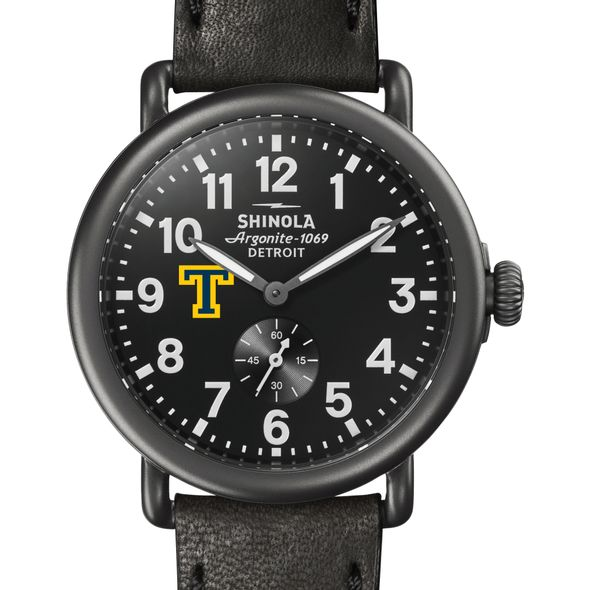 Trinity Shinola Watch, The Runwell 41mm Black Dial