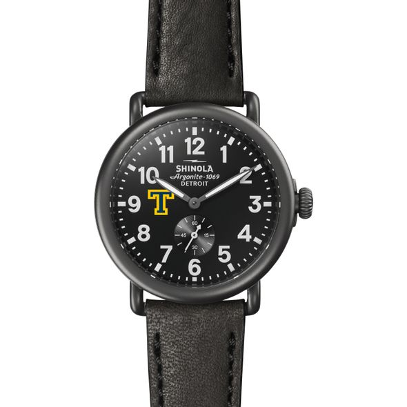 Trinity Shinola Watch, The Runwell 41mm Black Dial - Image 2