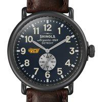 VCU Shinola Watch, The Runwell 47mm Midnight Blue Dial