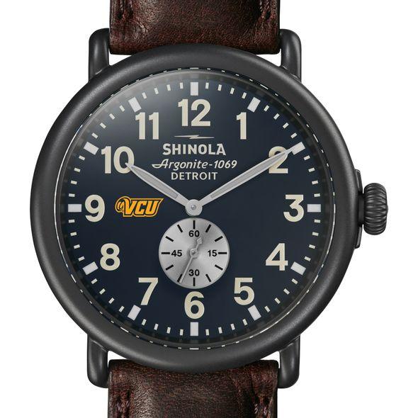 VCU Shinola Watch, The Runwell 47mm Midnight Blue Dial - Image 1