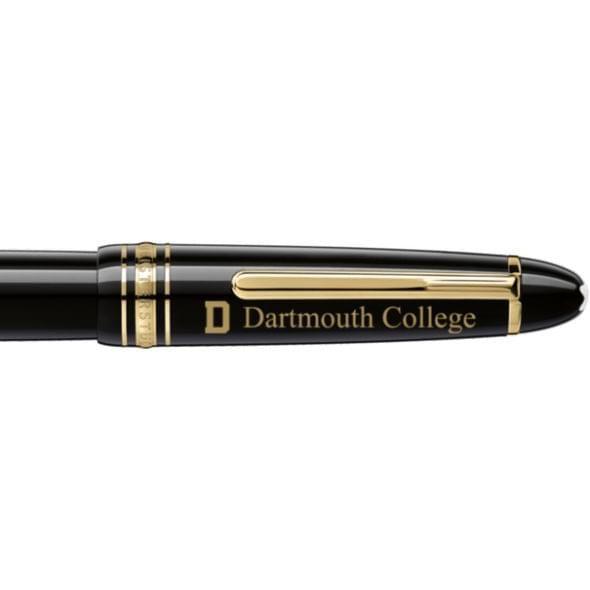 Dartmouth College Montblanc Meisterstück LeGrand Rollerball Pen in Gold - Image 2