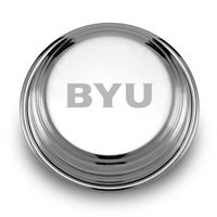 Brigham Young University Pewter Paperweight