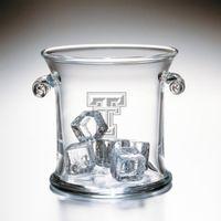 Texas Tech Glass Ice Bucket by Simon Pearce