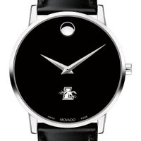 Loyola Men's Movado Museum with Leather Strap