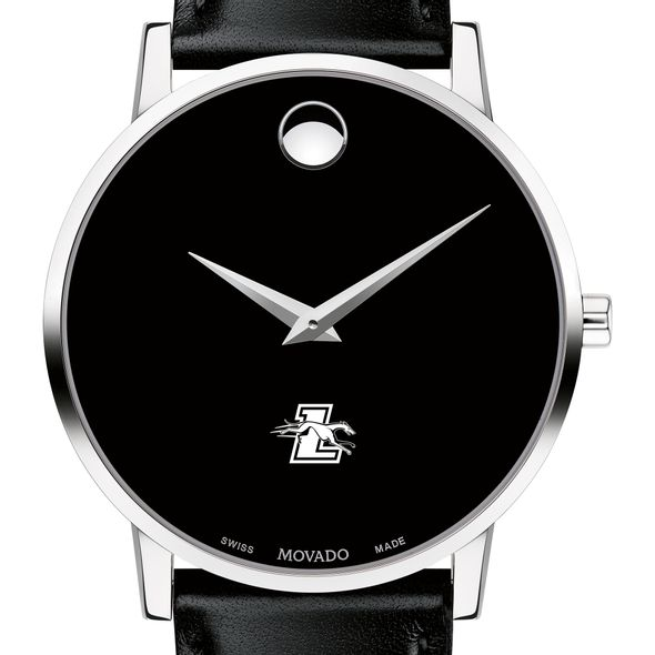 Loyola Men's Movado Museum with Leather Strap - Image 1