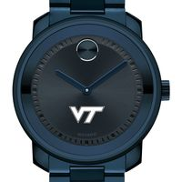 Virginia Tech Men's Movado BOLD Blue Ion with Bracelet