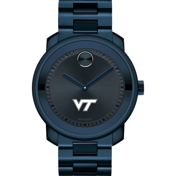 Virginia Tech Men's Movado BOLD Blue Ion with Bracelet - Image 2