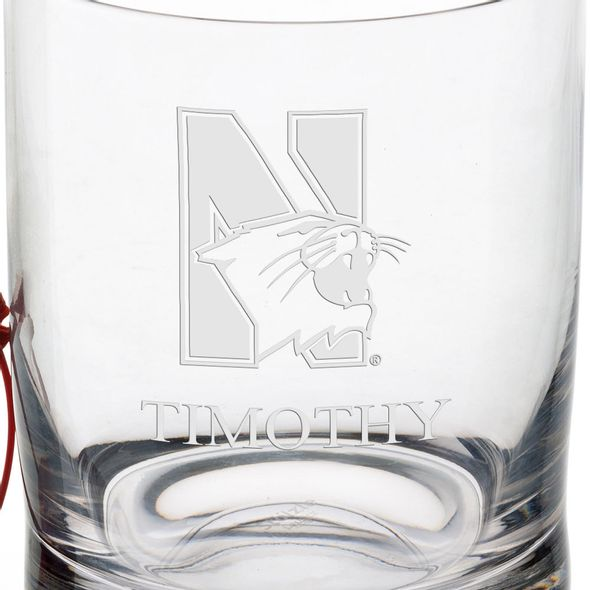 Northwestern University Tumbler Glasses - Set of 2 - Image 3