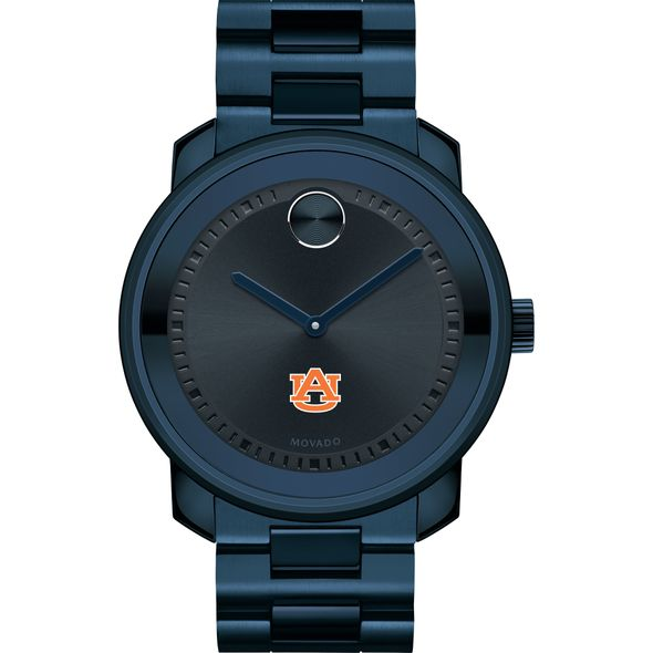 Auburn University Men's Movado BOLD Blue Ion with Bracelet - Image 2