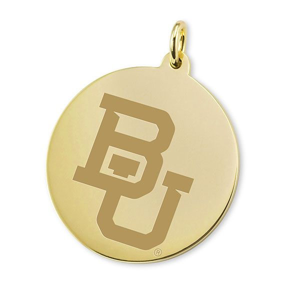 Baylor 14K Gold Charm