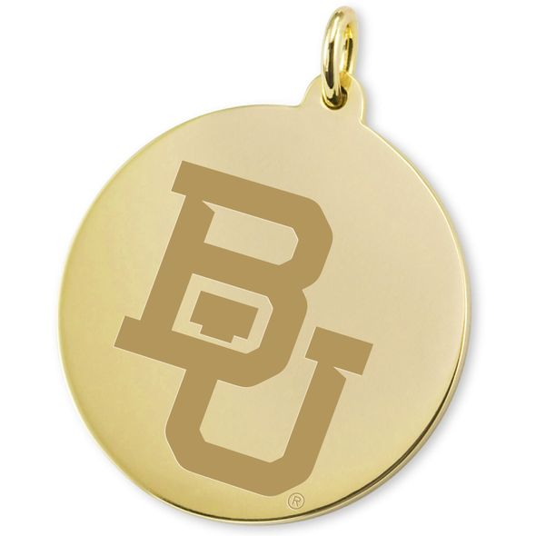 Baylor 14K Gold Charm - Image 2