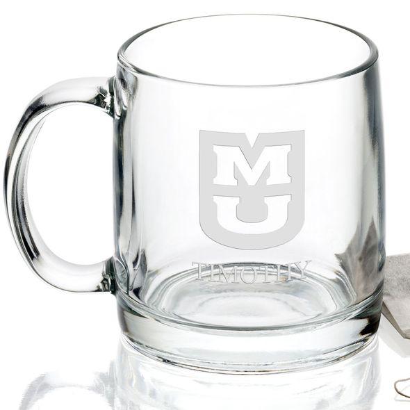 University of Missouri 13 oz Glass Coffee Mug - Image 2
