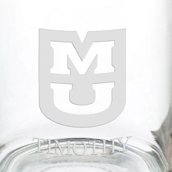 University of Missouri 13 oz Glass Coffee Mug - Image 3