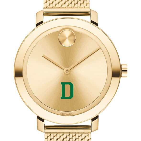 Dartmouth Women's Movado Bold Gold with Mesh Bracelet - Image 1