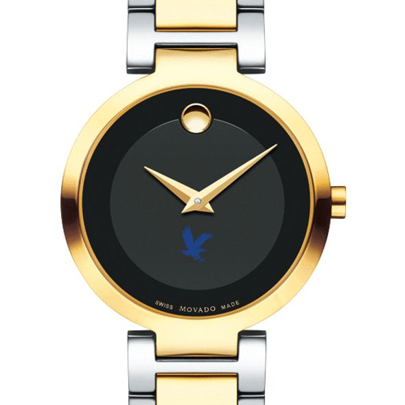 Embry-Riddle Women's Movado Two-Tone Modern Classic Museum with Bracelet