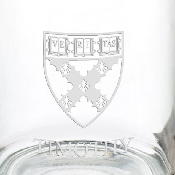 Harvard Business School 13 oz Glass Coffee Mug - Image 3