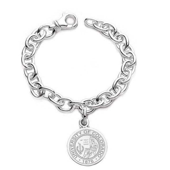 Colorado Sterling Silver Charm Bracelet - Image 1
