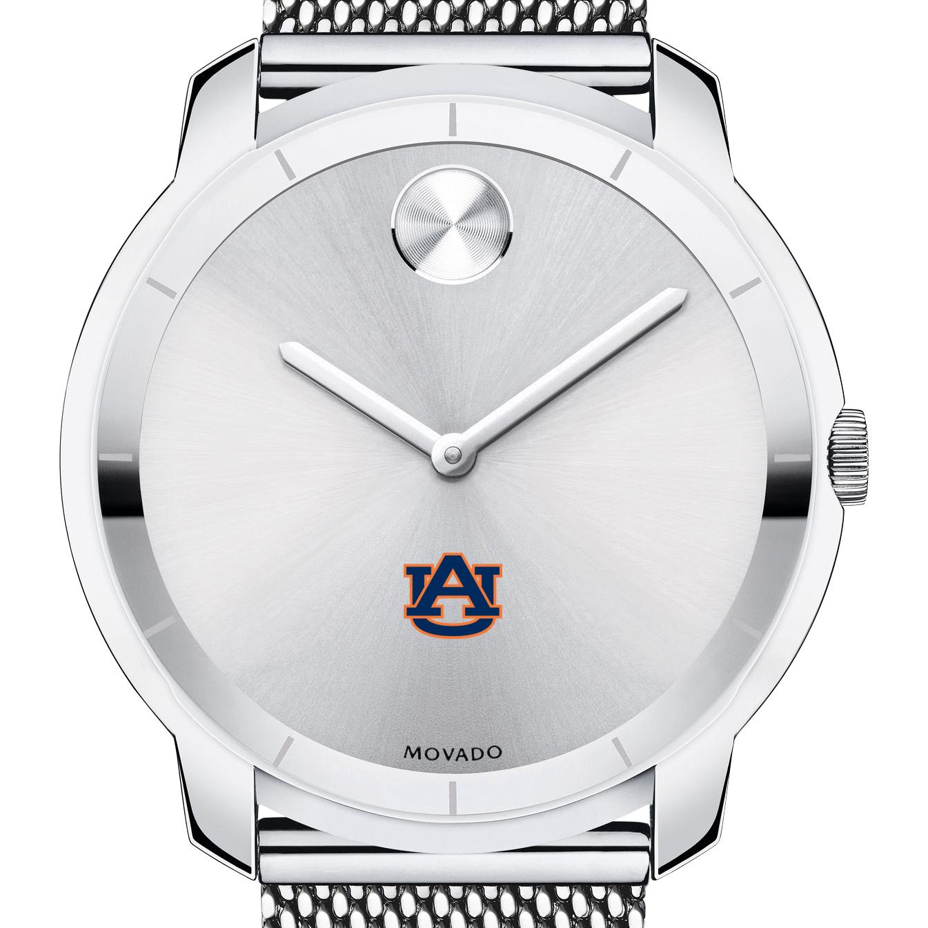 Auburn Men's Movado Stainless Bold 44
