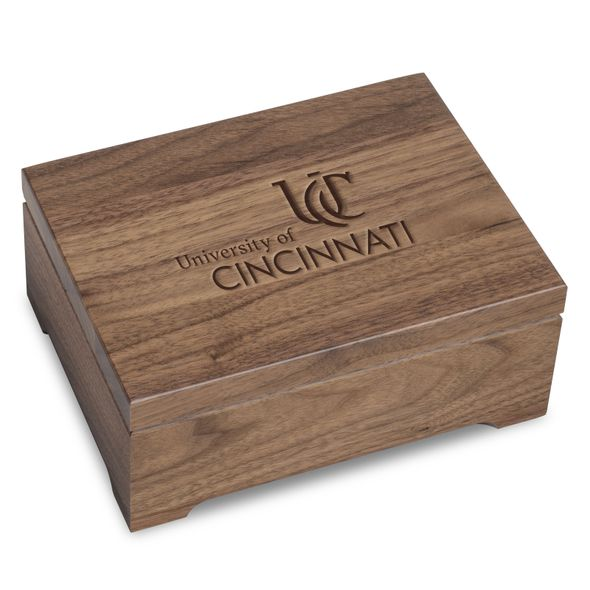 Cincinnati Solid Walnut Desk Box - Image 1