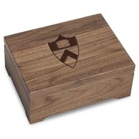 Princeton University Solid Walnut Desk Box