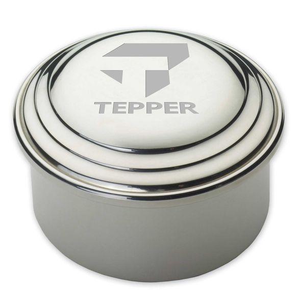 Tepper Pewter Keepsake Box