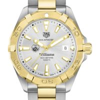 Williams College Men's TAG Heuer Two-Tone Aquaracer