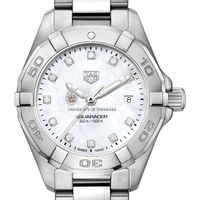 Tennessee Women's TAG Heuer Steel Aquaracer with MOP Diamond Dial