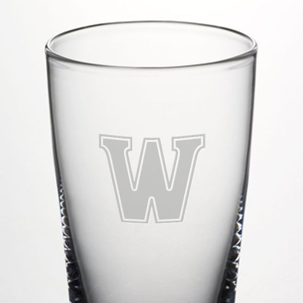 Williams Pint Glass by Simon Pearce - Image 2