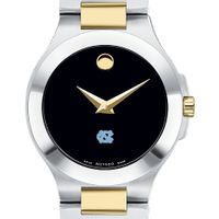 UNC Women's Movado Collection Two-Tone Watch with Black Dial