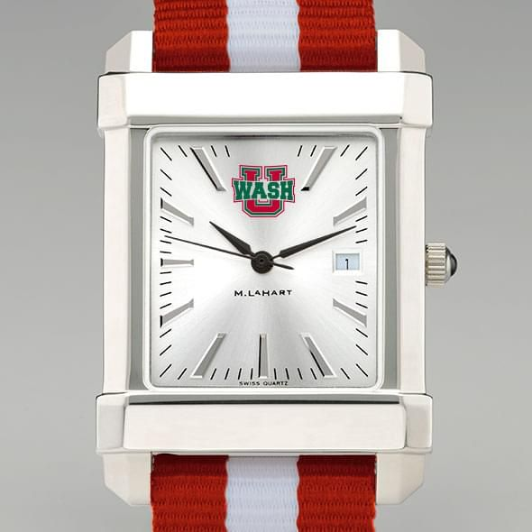 WashU Collegiate Watch with NATO Strap for Men
