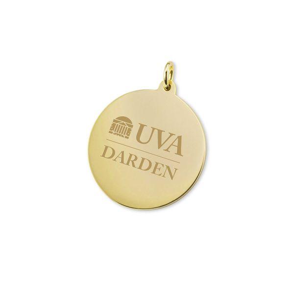 UVA Darden 18K Gold Charm