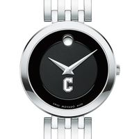 College of Charleston Women's Movado Esparanza Stainless Steel Museum with Bracelet
