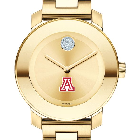 University of Arizona Women's Movado Gold Bold