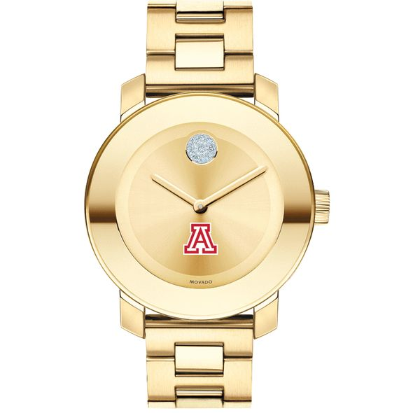 University of Arizona Women's Movado Gold Bold - Image 2