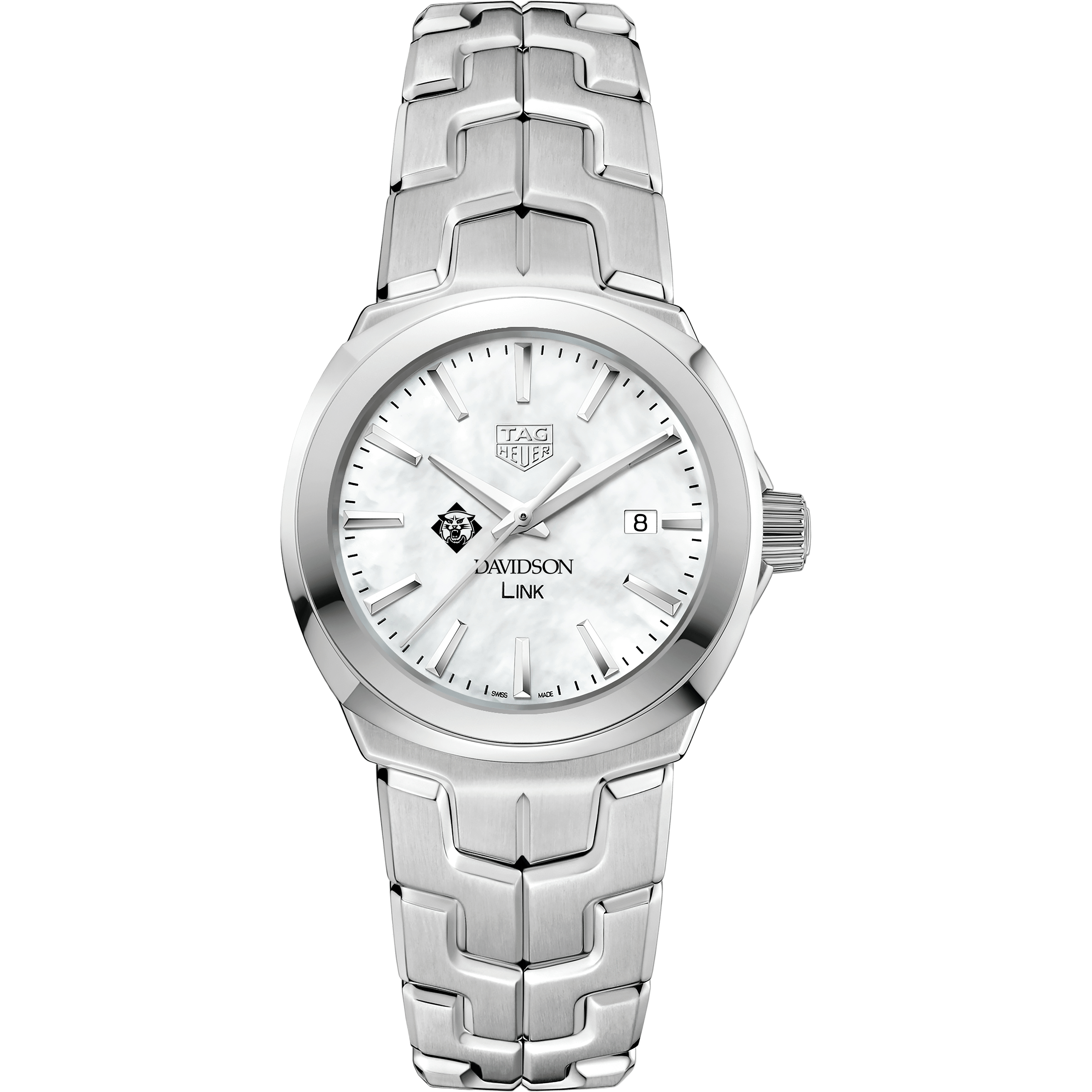 Davidson College TAG Heuer LINK for Women - Image 2