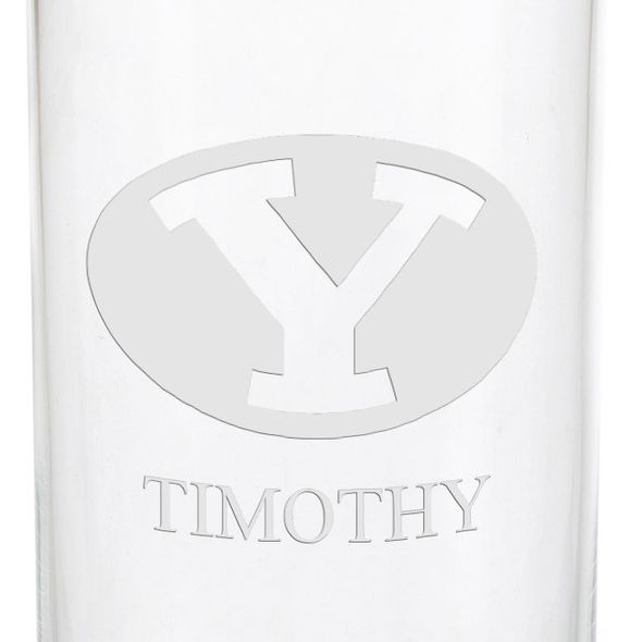 Brigham Young University Iced Beverage Glasses - Set of 4 - Image 3