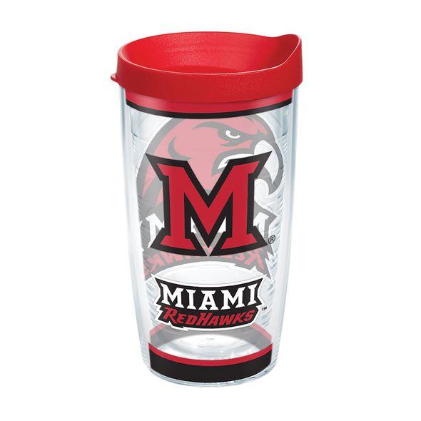 Miami University 16 oz. Tervis Tumblers - Set of 4