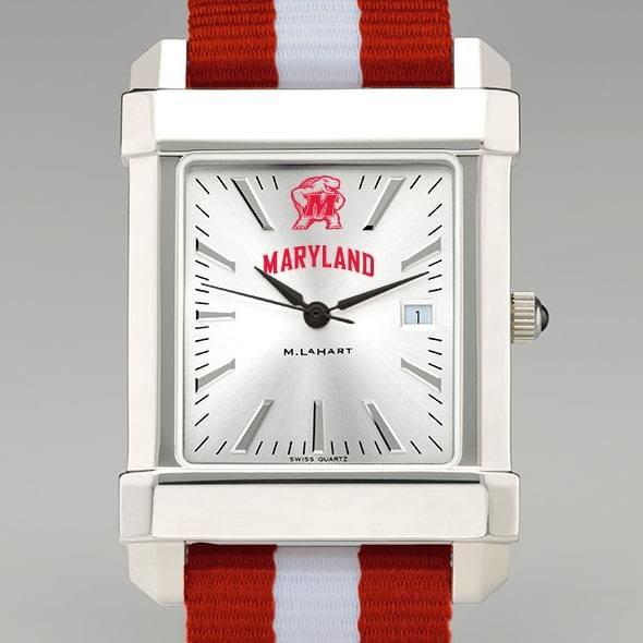 University of Maryland Collegiate Watch with NATO Strap for Men