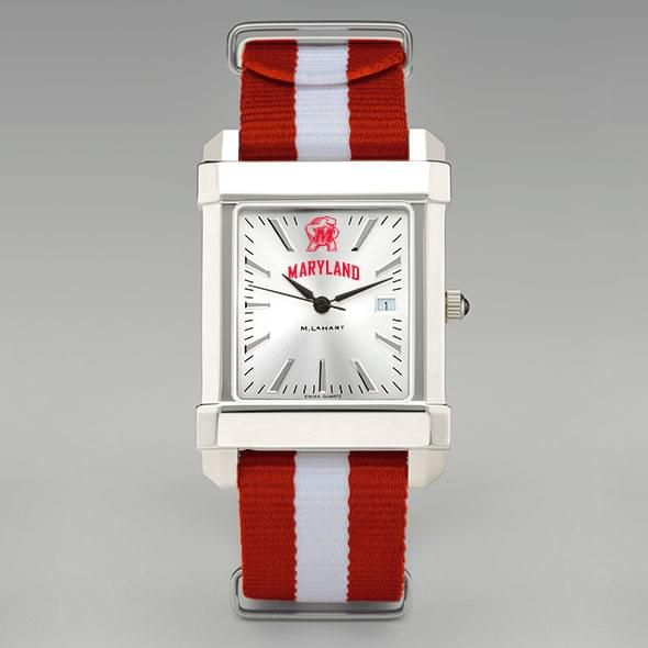 University of Maryland Collegiate Watch with NATO Strap for Men - Image 2