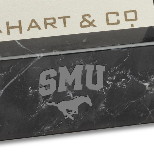 SMU Marble Business Card Holder - Image 2
