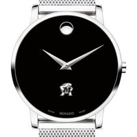 University of Maryland Men's Movado Museum with Mesh Bracelet