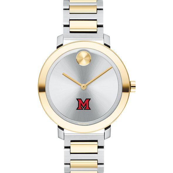 Miami University Women's Movado Two-Tone Bold 34 - Image 2