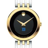 Duke University Women's Movado Esparanza Two-Tone Museum with Bracelet