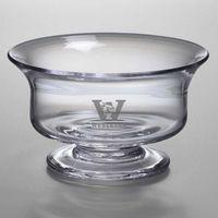 Wesleyan Simon Pearce Glass Revere Bowl Med