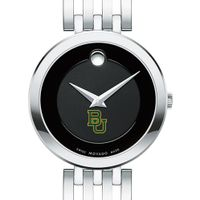 Baylor University Women's Movado Esparanza Stainless Steel Museum with Bracelet