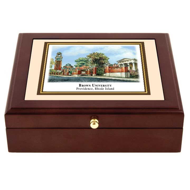 Brown Mini Desk Box