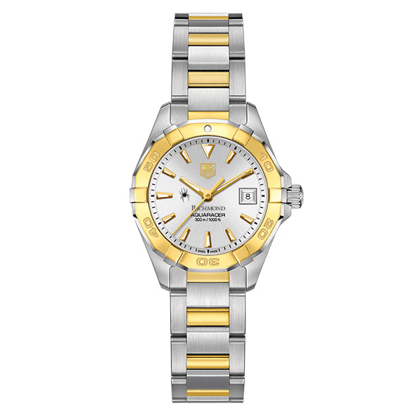 University of Richmond Women's TAG Heuer Two-Tone Aquaracer - Image 2
