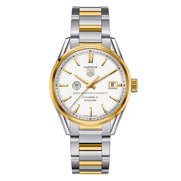 James Madison Men's TAG Heuer Two-Tone Carrera with Bracelet - Image 2